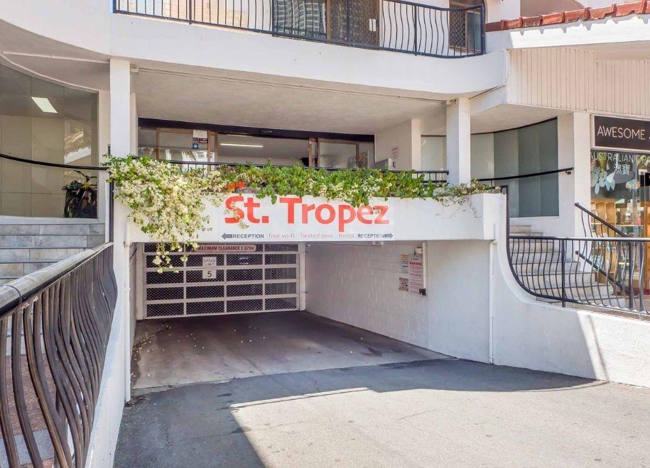 St Tropez - Car Park Entry